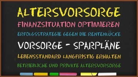 ETF-Sparplan als private Altersvorsorge